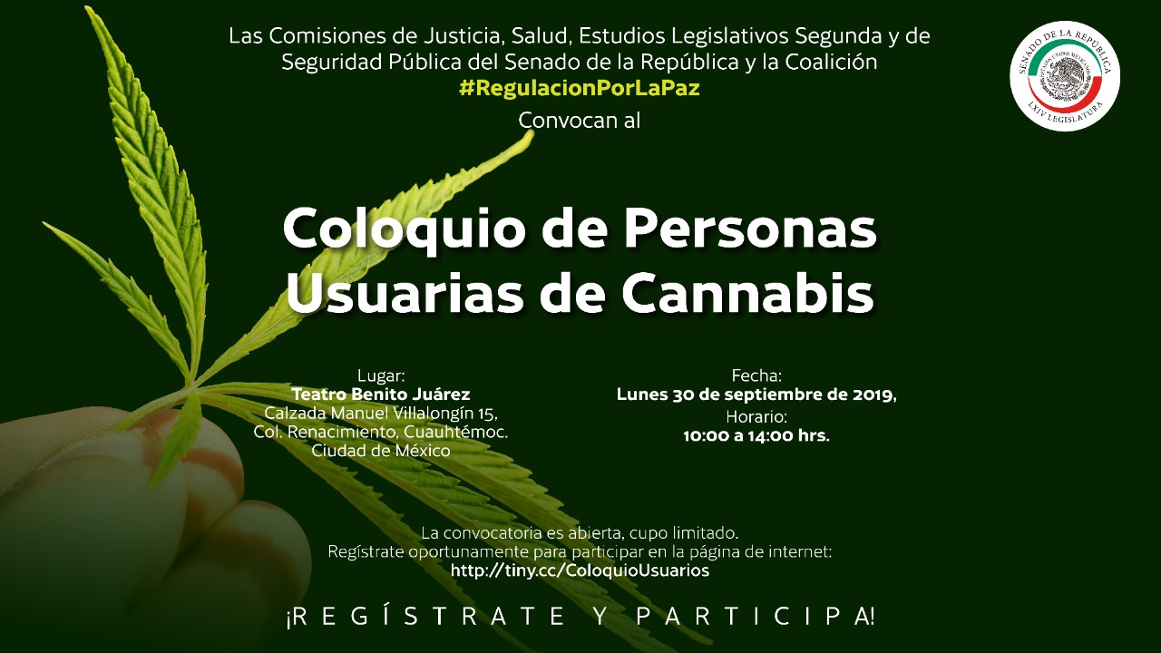 Coloquio de Personas Usuarias de Cannabis